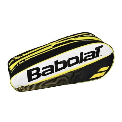 Raqueteira Babolat Holder X6 Club - Amarelo