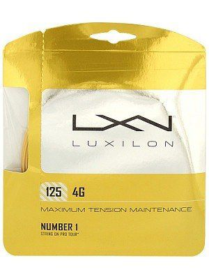 2 Sets De Corda Luxilon 4g - 125 - Set De 12m