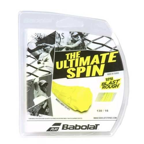 2 Sets Corda Babolat Rpm Blast Rough Am. 1,30 - Set De 12m