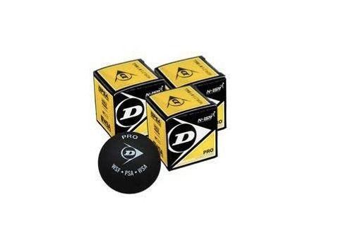 Bola De Squash Dunlop Revelation Pro Xx 2 Pingos - Pack 3 Pç