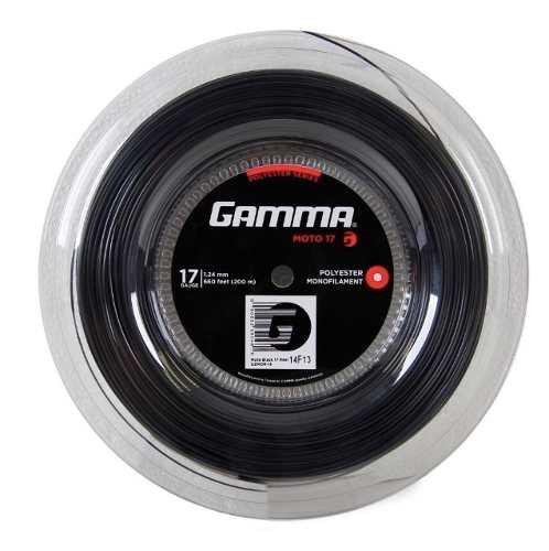 2 Set Gamma Moto 17l 1.24mm - 2 Sets Com 11,7 Metros - Preto