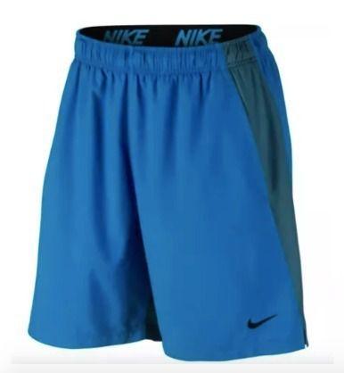 Shorts Nike Flex Woven Azul Claro