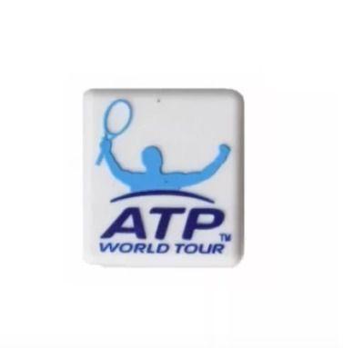Antivibrador Tecnifibre Atp World Tour - 3 Unidades - Branco