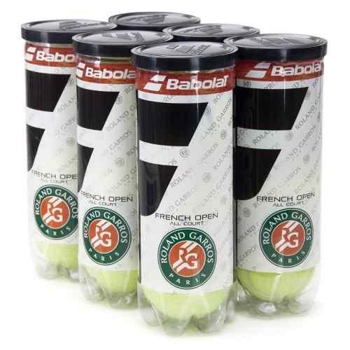Bola De Tênis Babolat Roland Garros - 6 Tubos