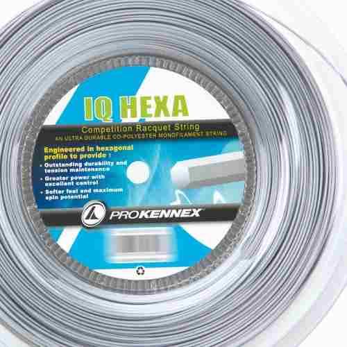 Corda ProKennex Iq Hexa 17/1,23mm - Rolo com 200mts