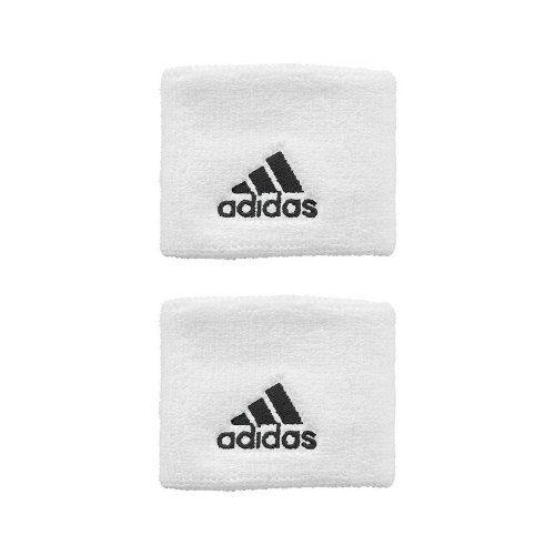 Munhequeira adidas Tennis Pequena Branca - 1 Par