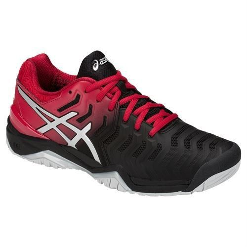 Tênis Asics Gel Resolution 7 - Black/silver