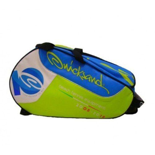 Raqueteira Quicksand Beach Tennis Amarelo/azul