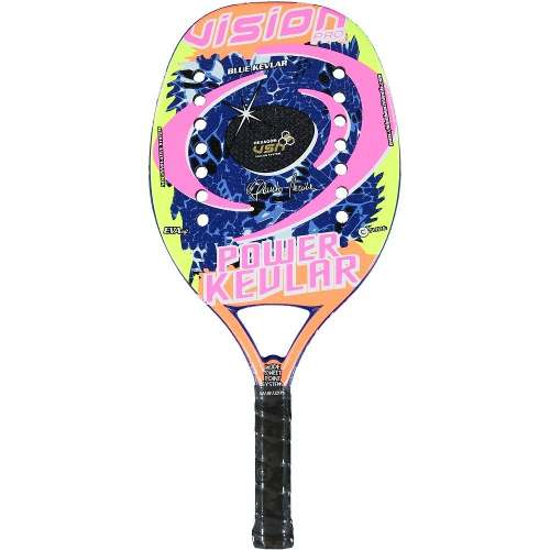 Raquete De Beach Tennis Vision Power Kevlar