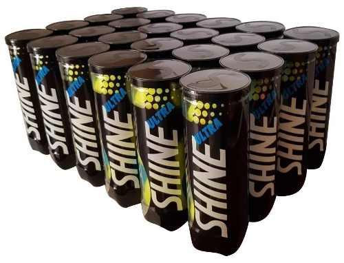Bola De Tênis Ultra Shine - 24 Tubos - Caixa Fechada