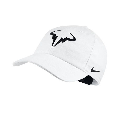 Boné Nike Rafael Nadal Aerobill H86 - 850666-101 Branco