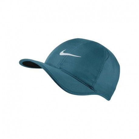 ae7948439cfe2 Boné Nike Aerobill Featherlight Dri-fit - Azul Petróleo - Bottcher Tênis  Shop