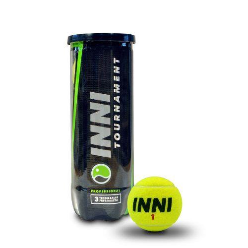 Bola De Tênis Inni Tournament 1 Tubo Com 3 Bolas