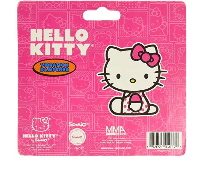 Antivibrador Hello Kitty - 2 Unidades