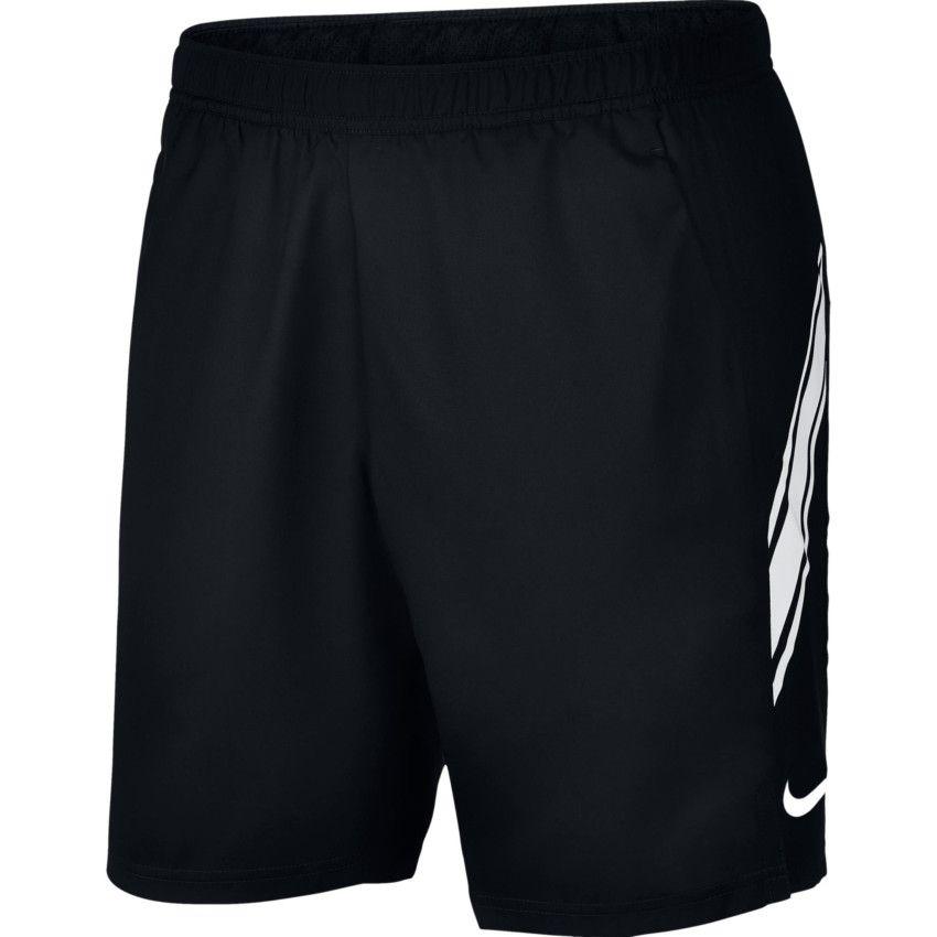 Bermuda Nike Standart Fit- Preto/Branco