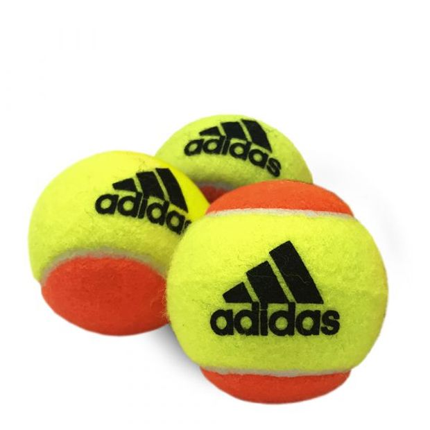 Bola De Beach Tênis Adidas Aditour- Embalagem com 3 Bolas