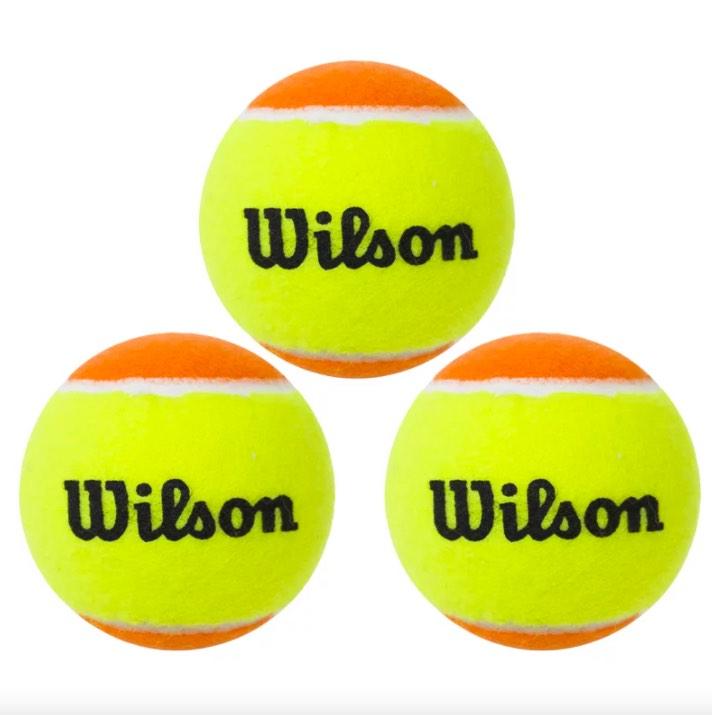 Bola De Beach Tênis Wilson Tour Premier Stage 2 - 3 Embalagens com 3 Bolas cada