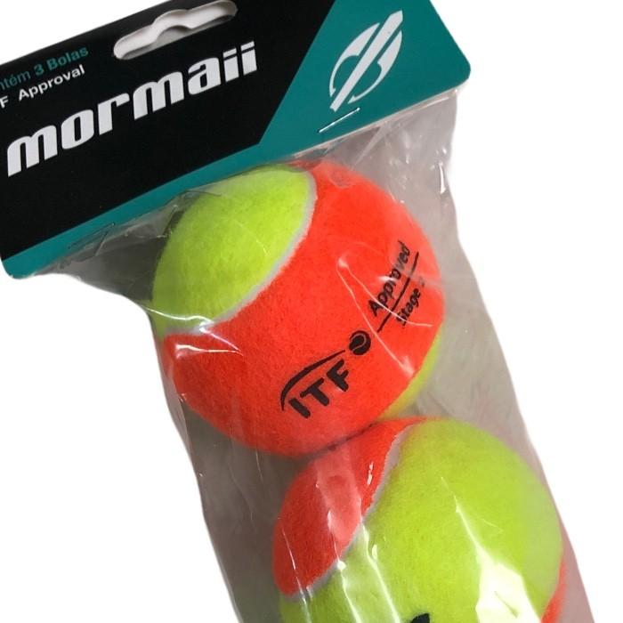 Bola De Beach Tennis Mormaii Premium - Embalagem Com 3 Bolas
