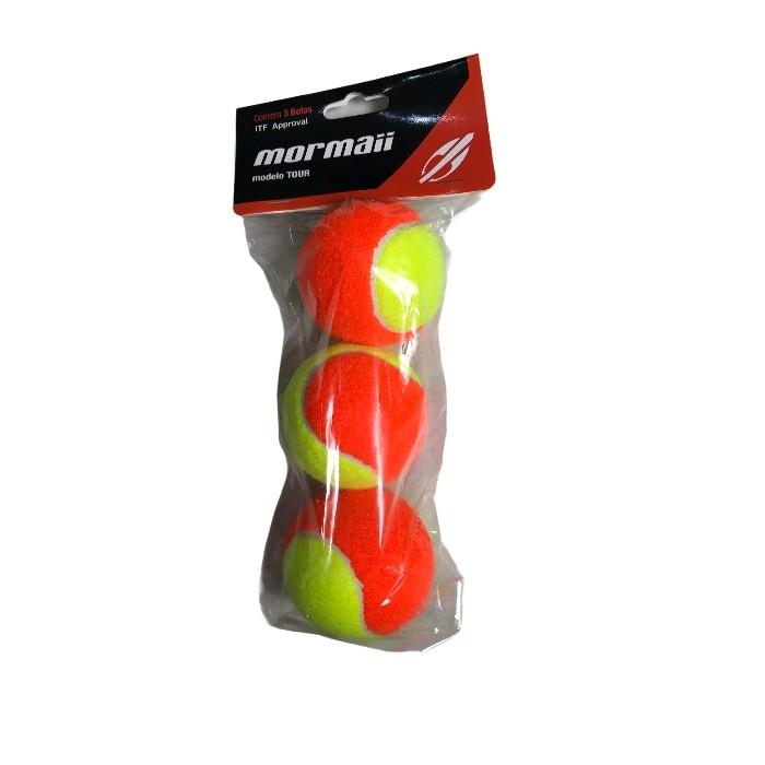 Bola De Beach Tennis Mormaii Tour - Embalagem Com 3 Bolas