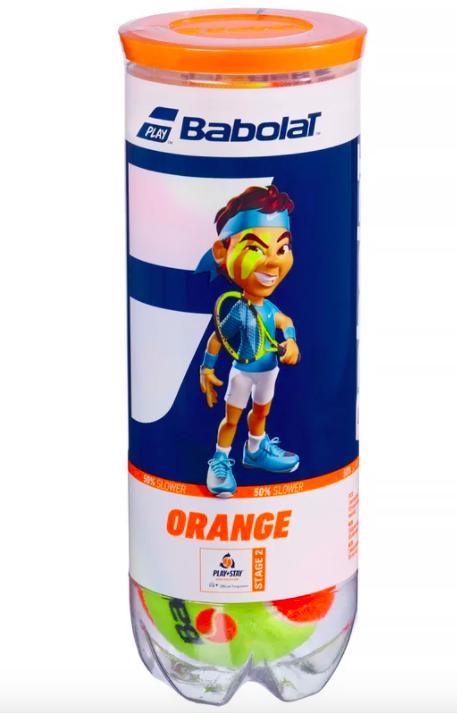 Bola de Tênis Babolat Orange Stage 2