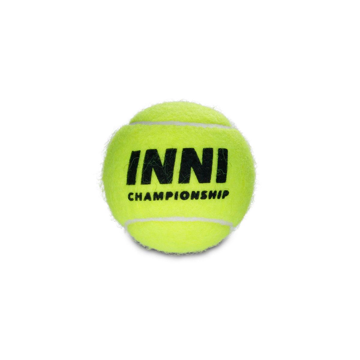 Bola De Tênis Inni Championship - 1 Tubo de 3 Bolas