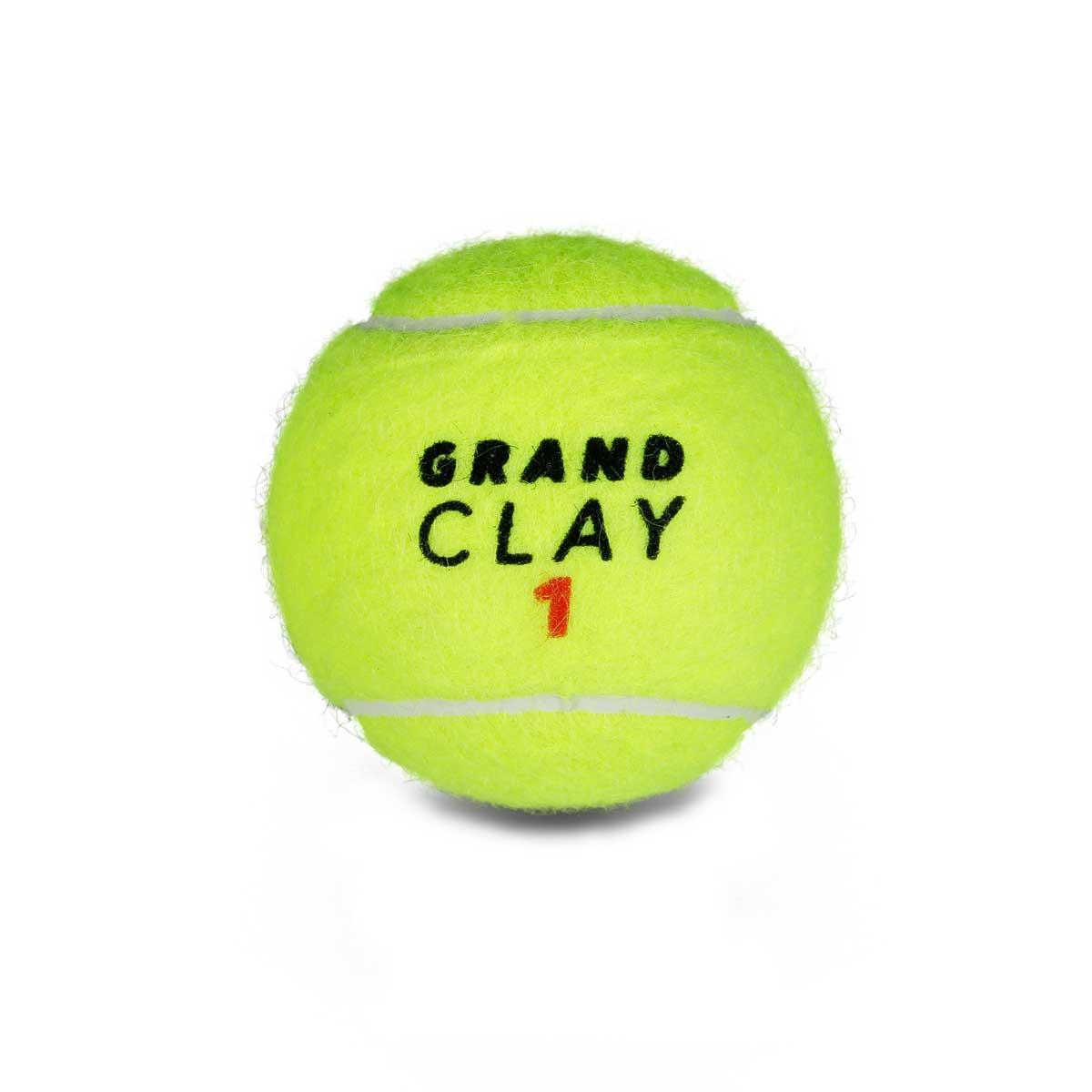 Bola De Tênis Inni Grand Clay Caixa C/ 24 Tubos De 3 Bolas