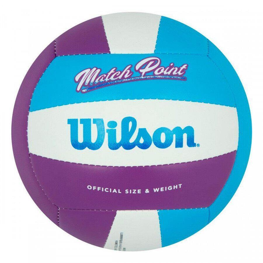 Bola de Volêi Wilson Match Point - Roxo/Azul/Branco