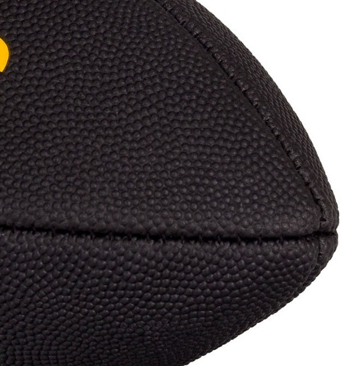 Bola de Futebol Americano Wilson NFL Pittsburgh Steelers Black