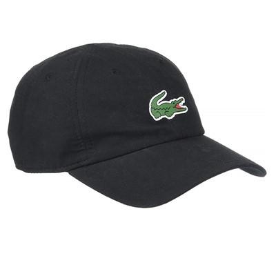 Bone Lacoste Sport Tennis Masculino Em Microfibra Com Logo Do Crocodilo Preto Bottcher Tenis Shop