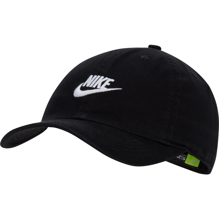 Boné Nike Futura Heritage86 Jovem/Infantil Unissex - Preto