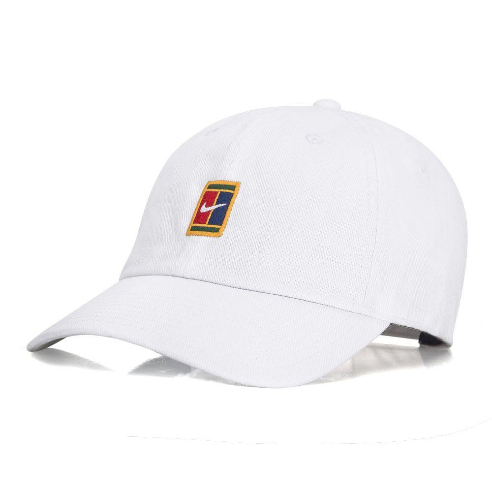 Boné Nike H86 Heritage86 Branco Logo