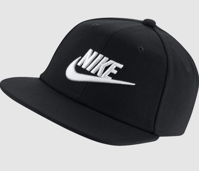 Boné Nike Infantil/Jovem Futura Pro - Preto