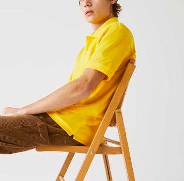 Camisa Lacoste Sport Polo -  Amarelo