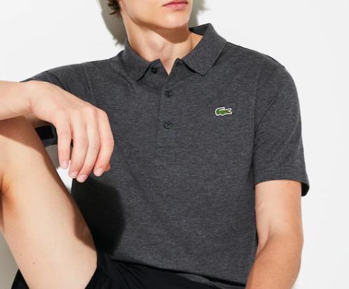 Camisa Lacoste Sport Polo -  Cinza Mescla