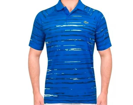 Camisa Lacoste Sport Polo Djokovic -  Azul