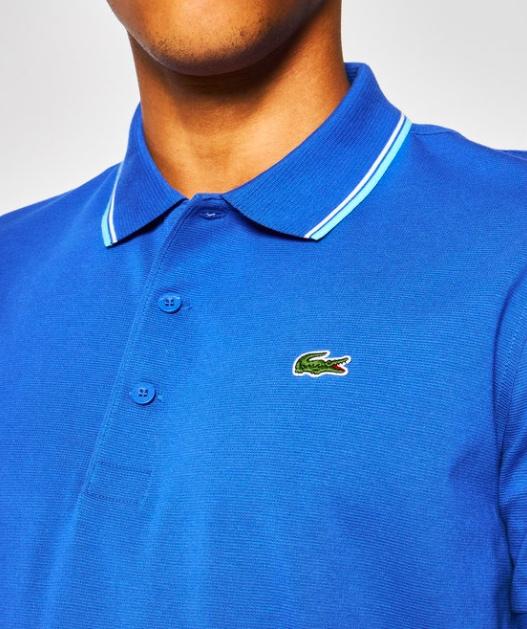 Camisa Lacoste Sport Polo YH7900 21 PUA Azul/Turquoise
