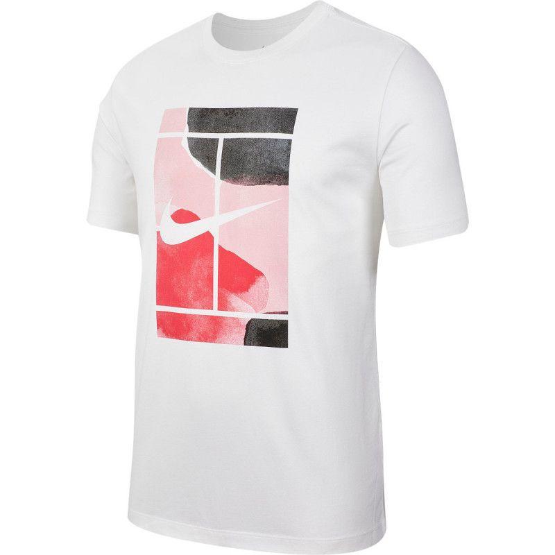 Camiseta NikeCourt- Branco
