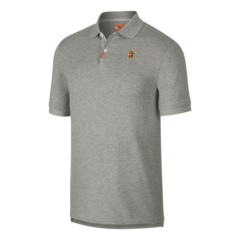 Camisa Polo Nike Natural Performance - Cinza
