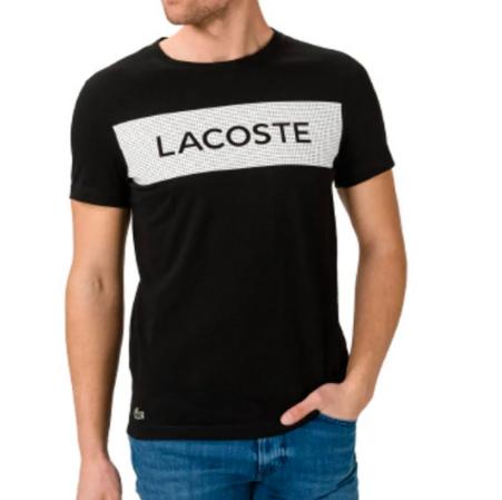 Camiseta Lacoste Sport Ultra Dry Printed TH4865 21 258 Preto
