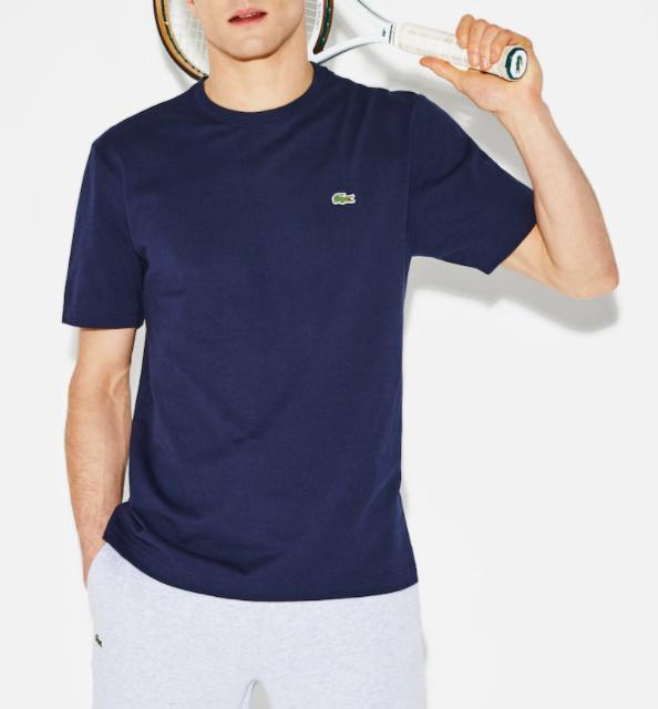 Camiseta Lacoste Sport Ultra Light Tennis TH7418-21-166 Azul