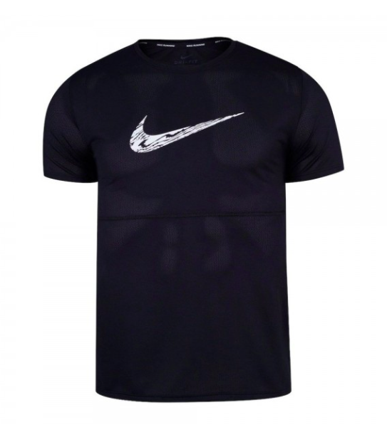 Camiseta Nike Breathe to Run Dri-fit DA0210-010 Preto