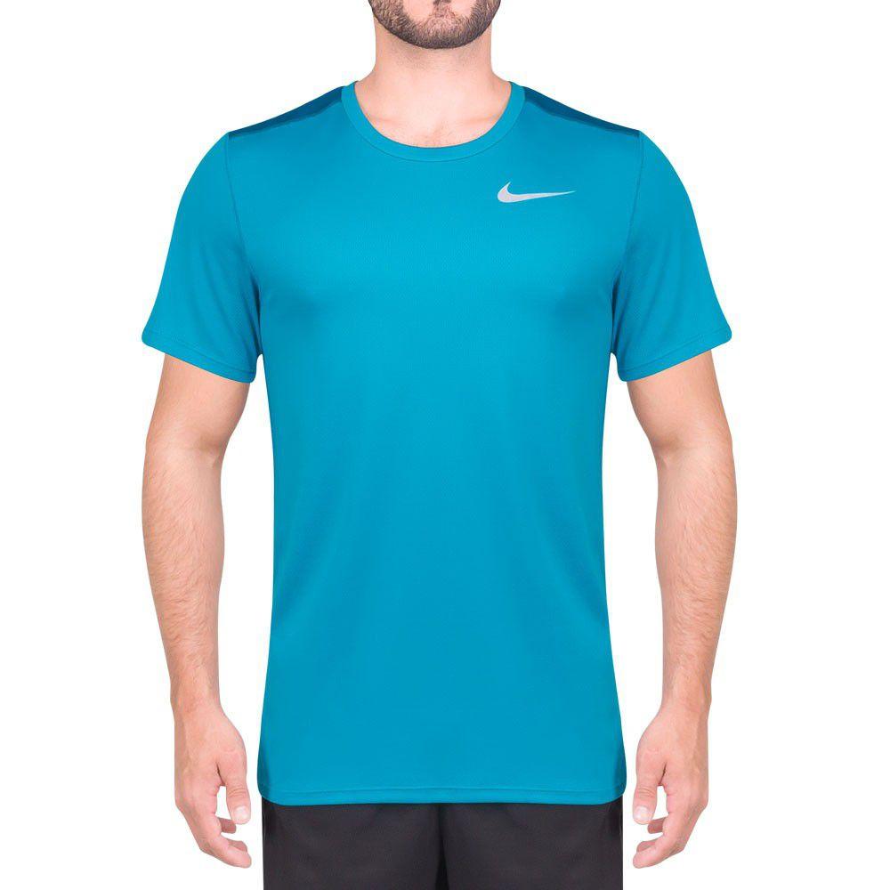 Camiseta Nike Court Dry Azul Turquesa