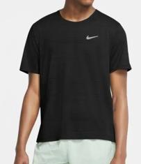 Camiseta Nike Dri-FIT Miler Masculina Preto