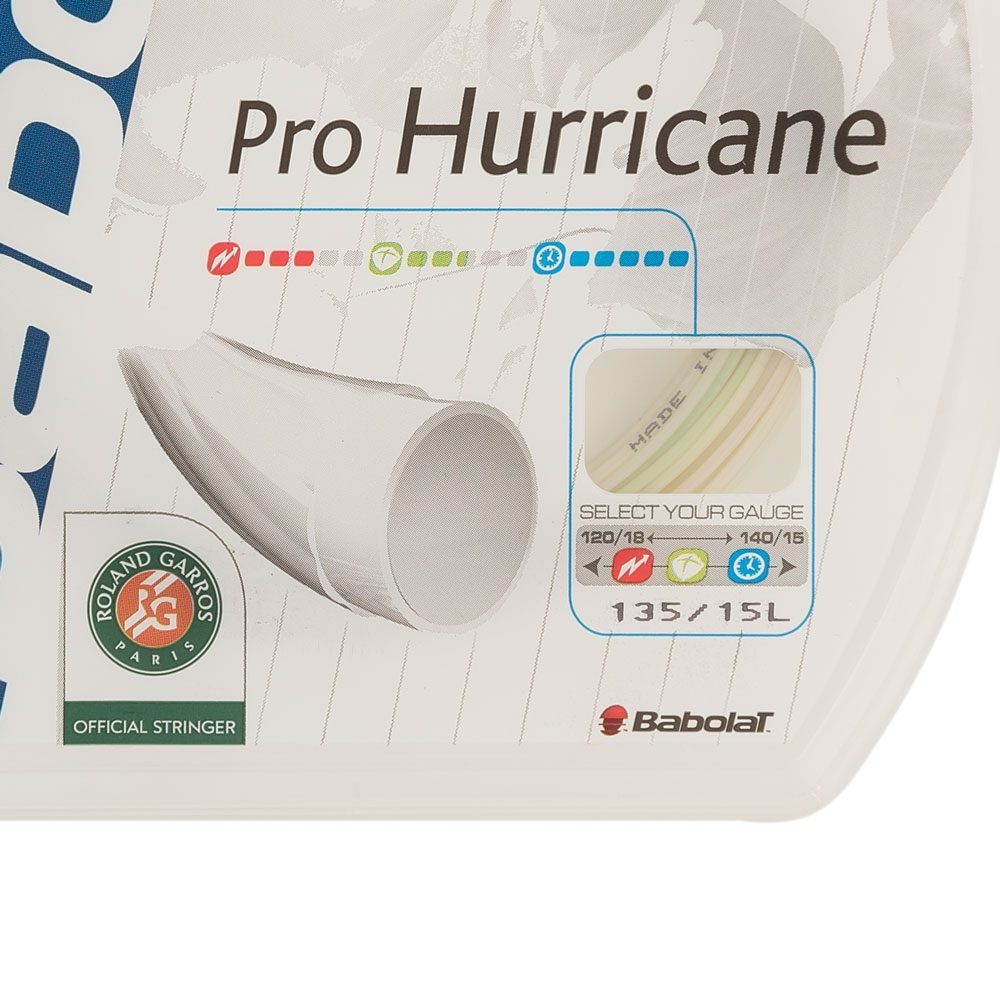 Corda Babolat Pro Hurricane 15/1,35mm - Set Individual