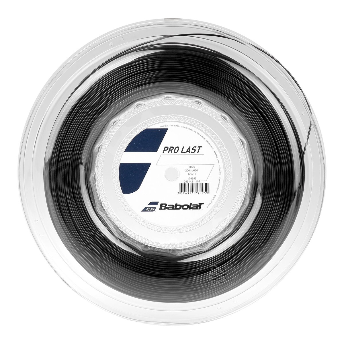 Corda Babolat Pro Last 17/1,25mm - Rolo com 200mts