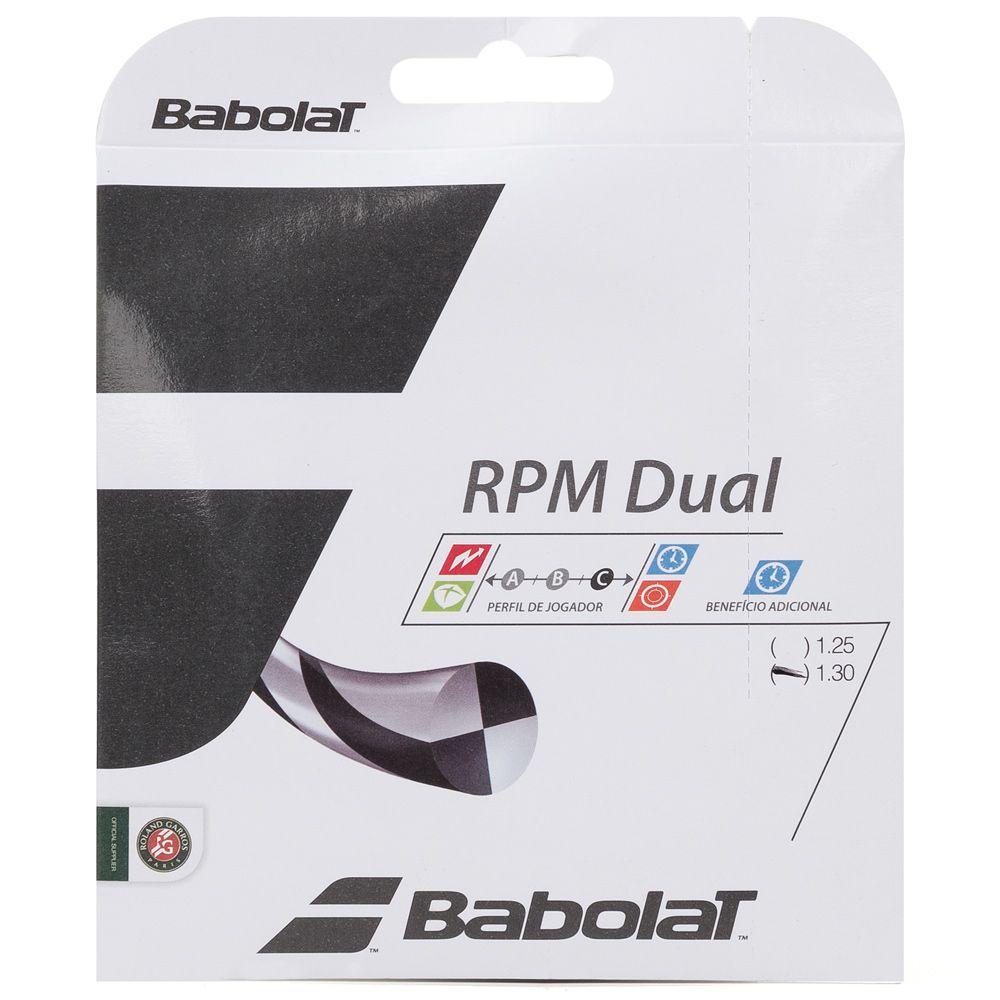 Corda Babolat RPM Dual 1,30 - Set Individual