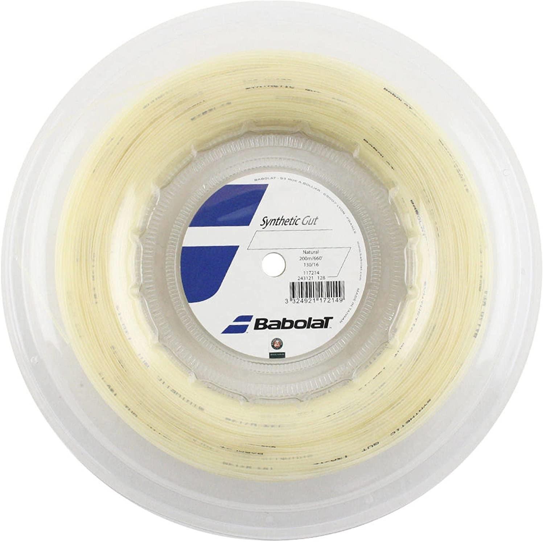 Corda Babolat Synthetic Gut 16/1,30 - 200mts - Natural
