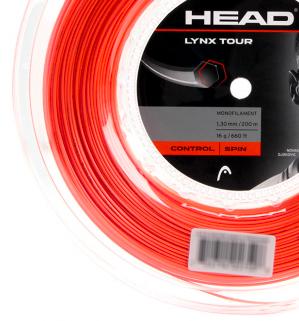 Corda Head Lynx Tour 1,30mm - Set Individual - Cor Laranja