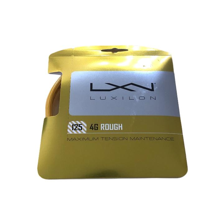 Corda Luxilon 4G Rough 1,25mm - Set Individual