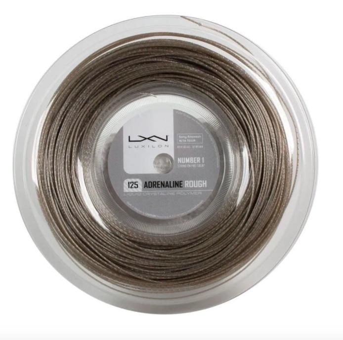 Corda Luxilon Adrenaline Rough 1,25mm - Rolo com 200m